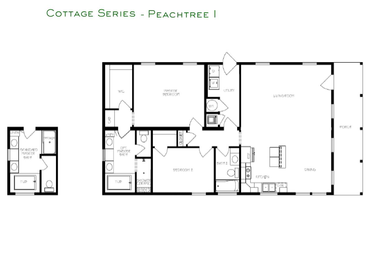 Cottage Series Peachtree I