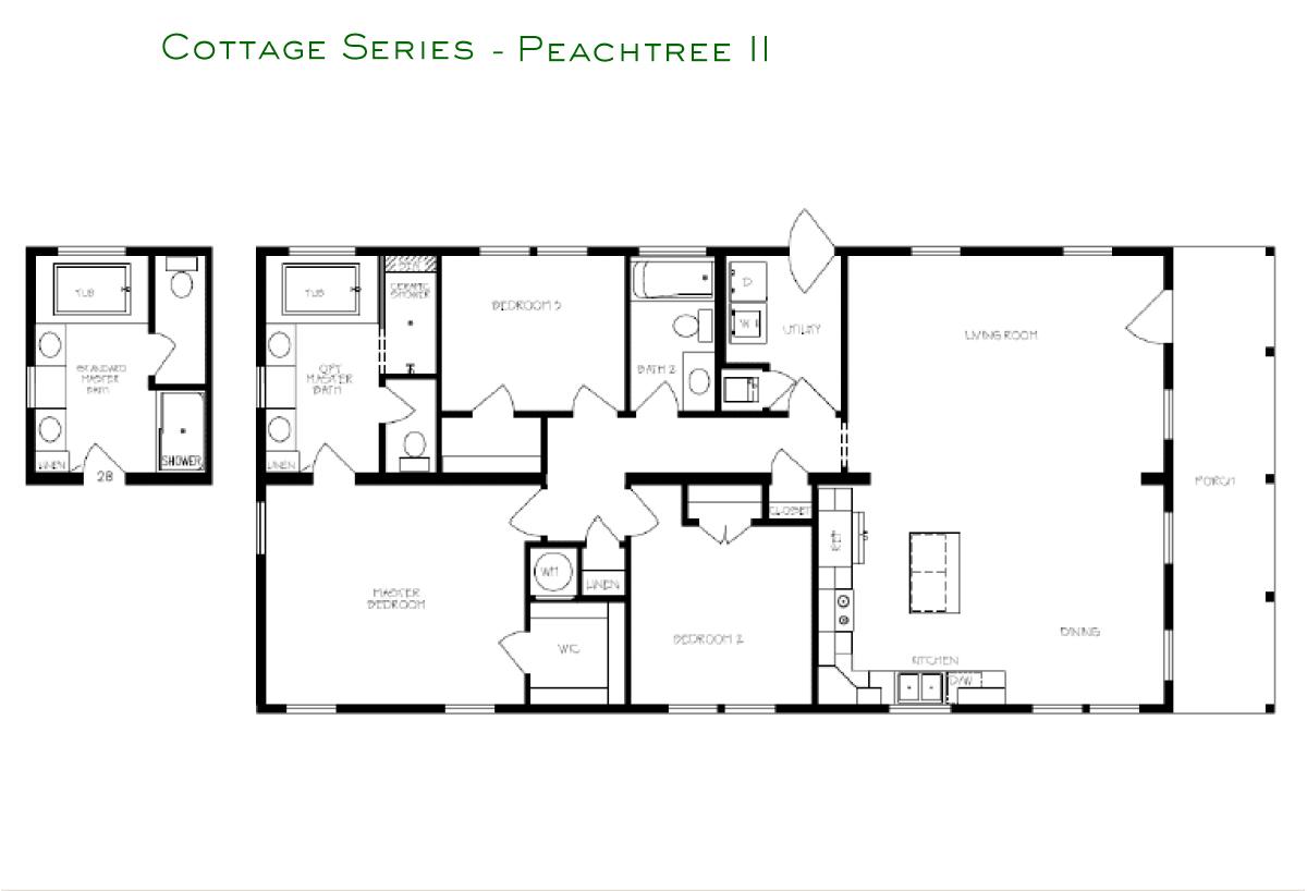 Cottage Series Peachtree II