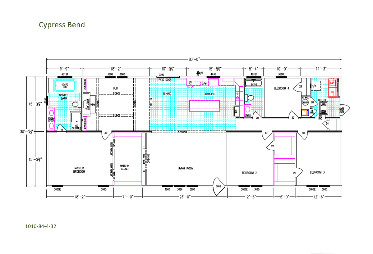 Freedom Living Cypress Bend Layout