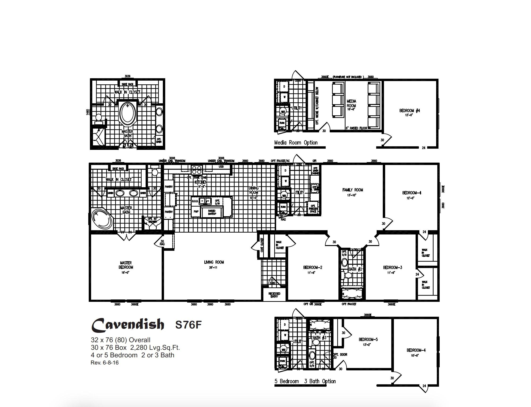 Prime Series - Cavendish S76F