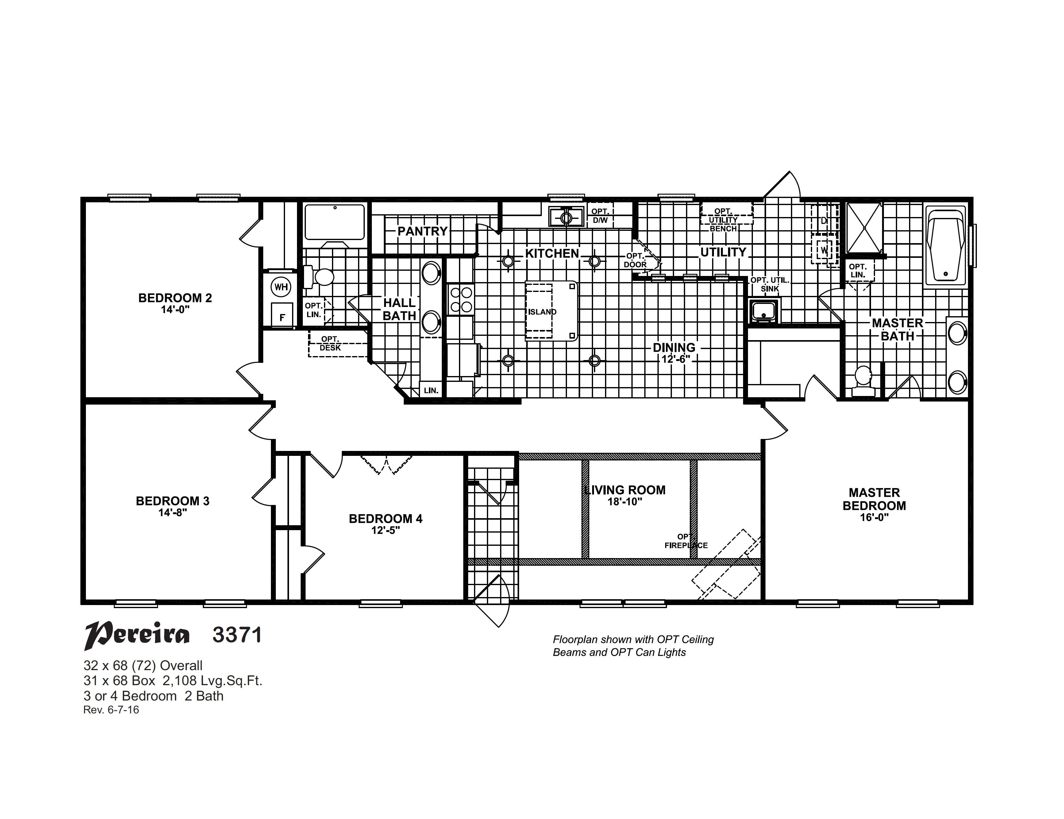 Nautica / Pereira 3371 By Meridian Homes