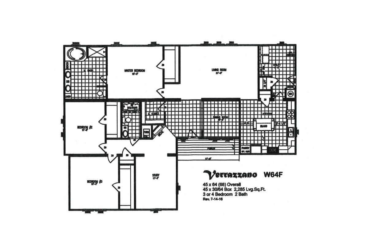 Prime Series Verrazzano W64F Layout
