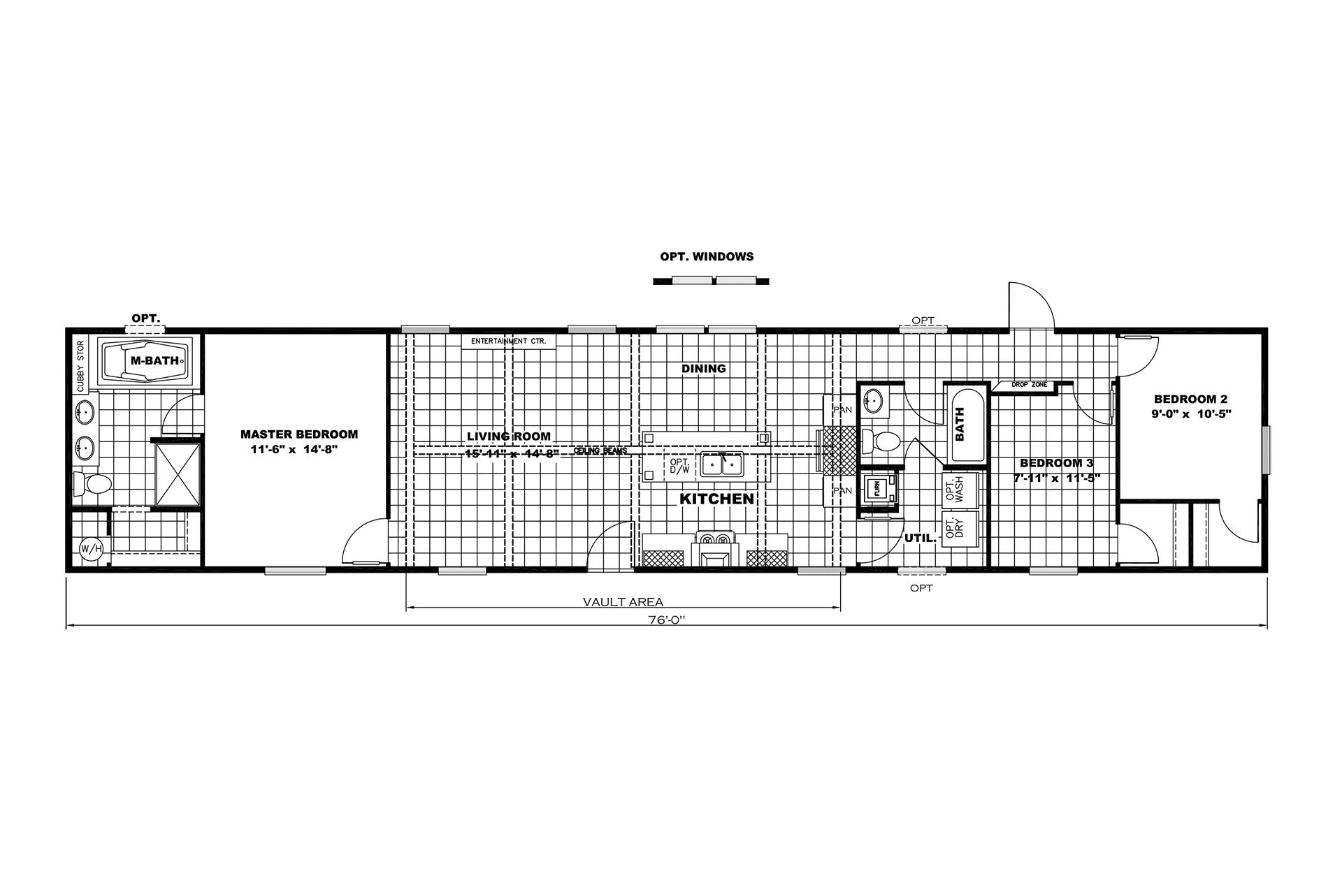 Factory Direct The Woodland Ridge Layout