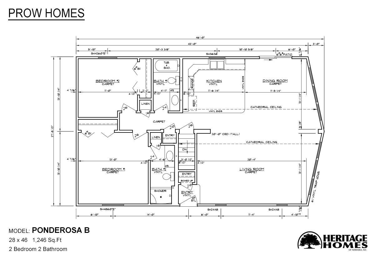 Alpine homes in fort collins co manufactured home and for Prow house plans