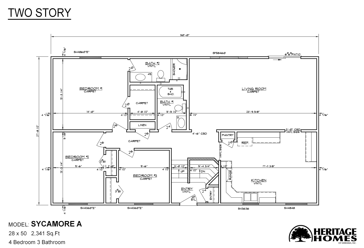 Two Story Sycamore A By Alpine Homes