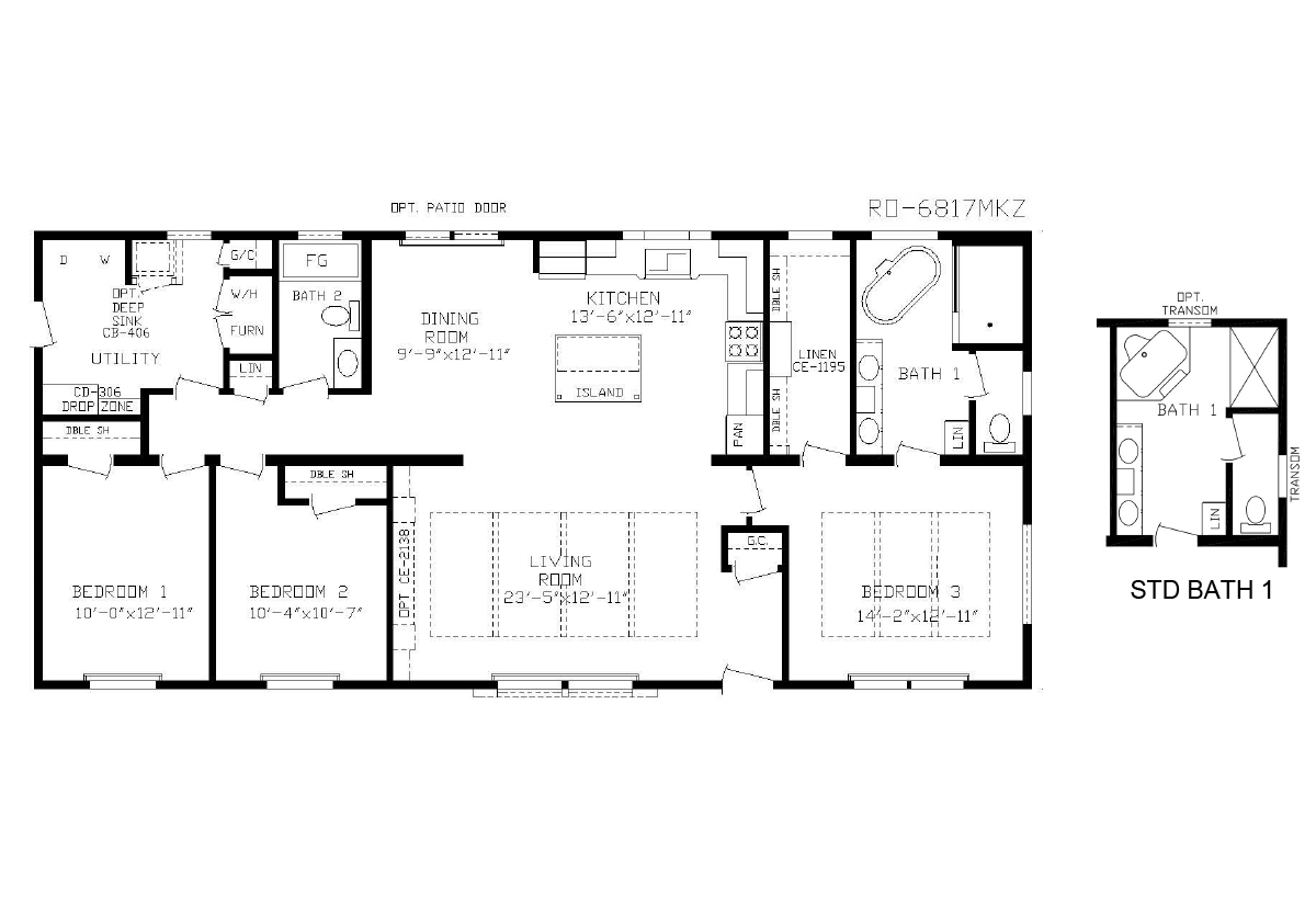 Manufactured homes home for Sioux falls home builders floor plans