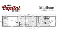 Capital Series The Madison 78 FT Layout