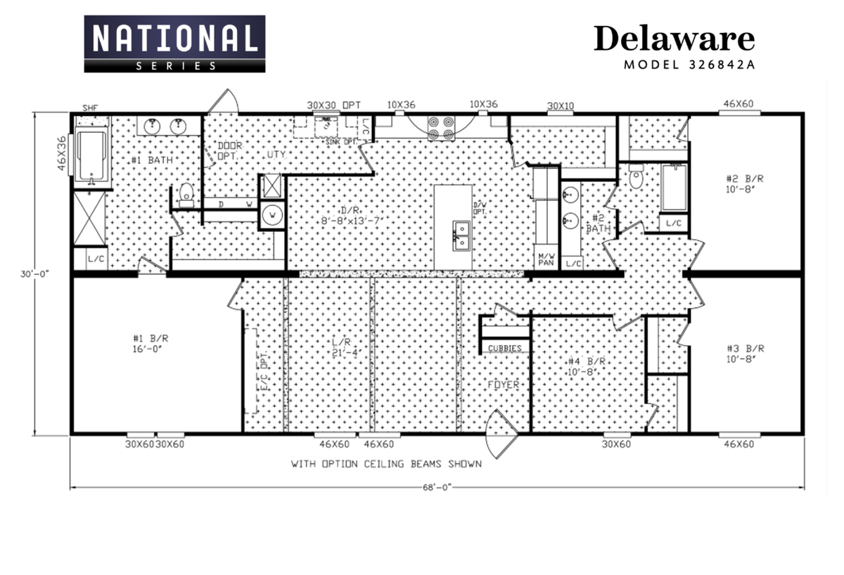 National Series The Delaware Layout