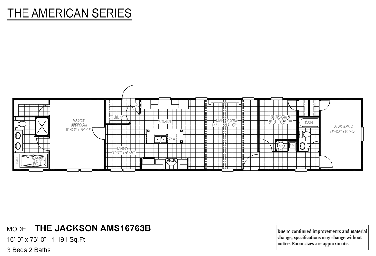 The American Series The Jackson Layout