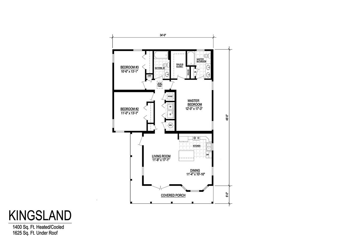 Floor Plan Detail Yess Home Center Cordele