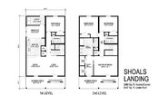 Two Story Collection Shoals Landing Layout