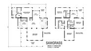 Two Story Collection Sawgrass Layout