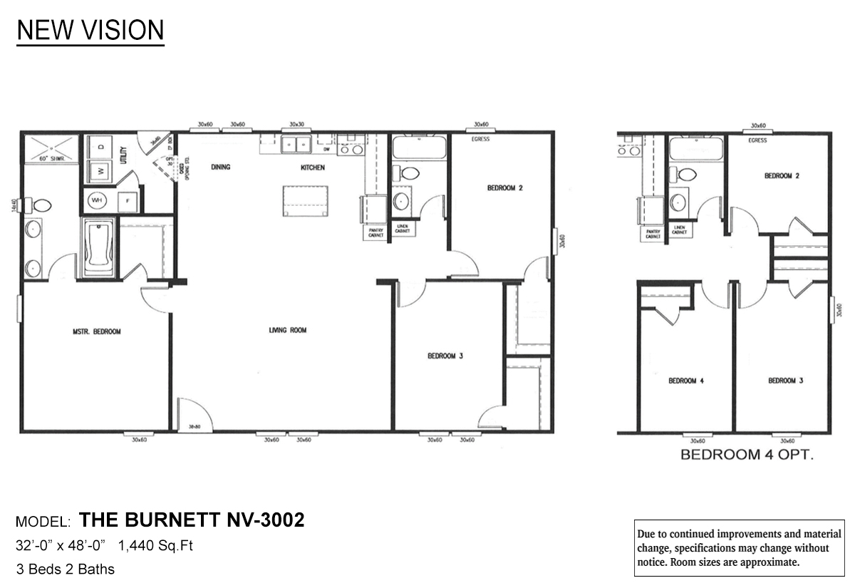 New Vision The Burnett Layout