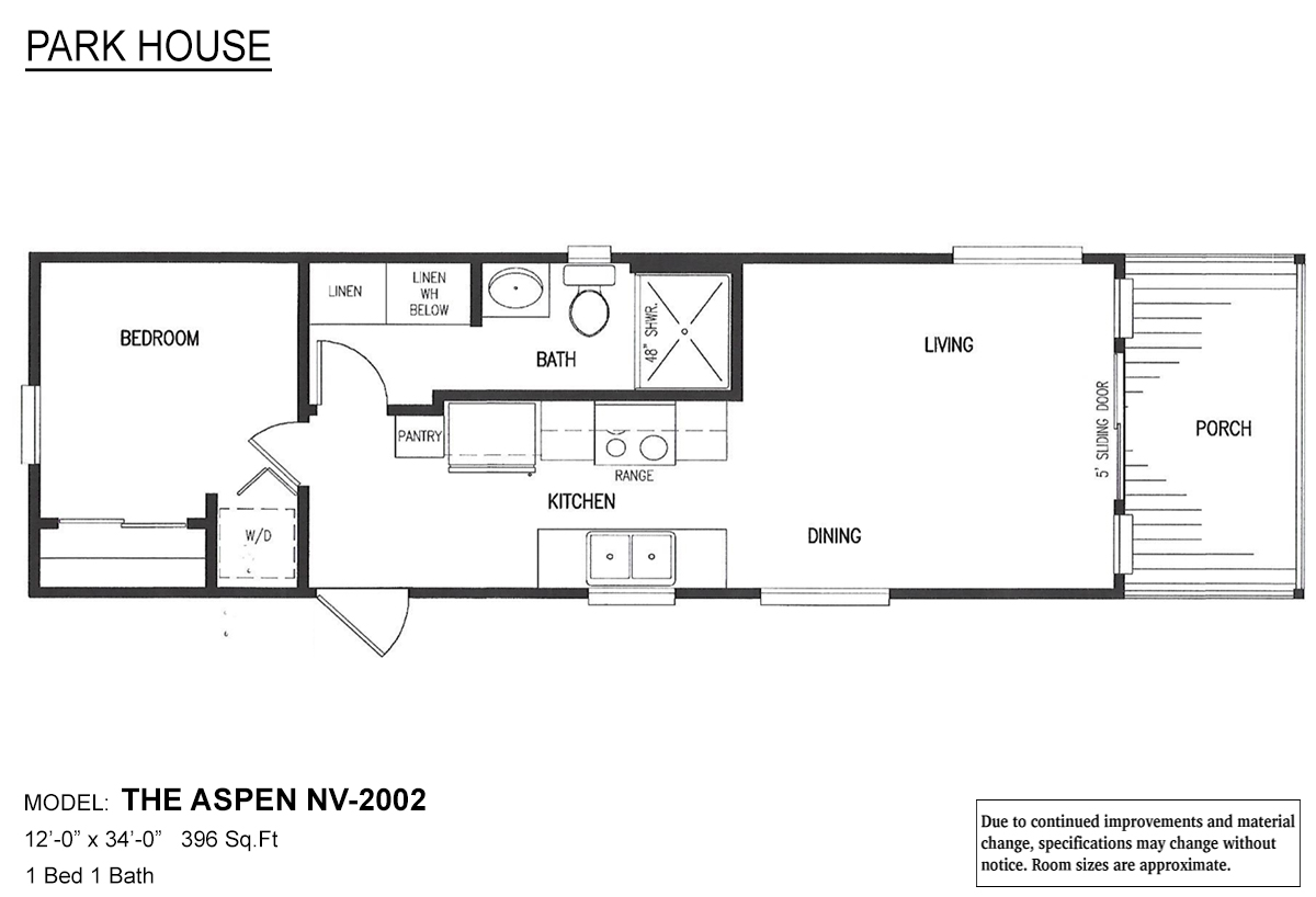 Park House The Aspen Layout