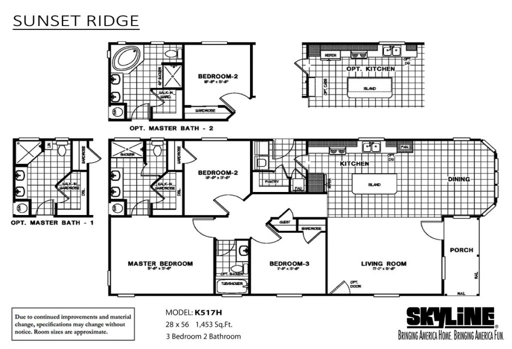 Skyline Homes Sunset Ridge K517H