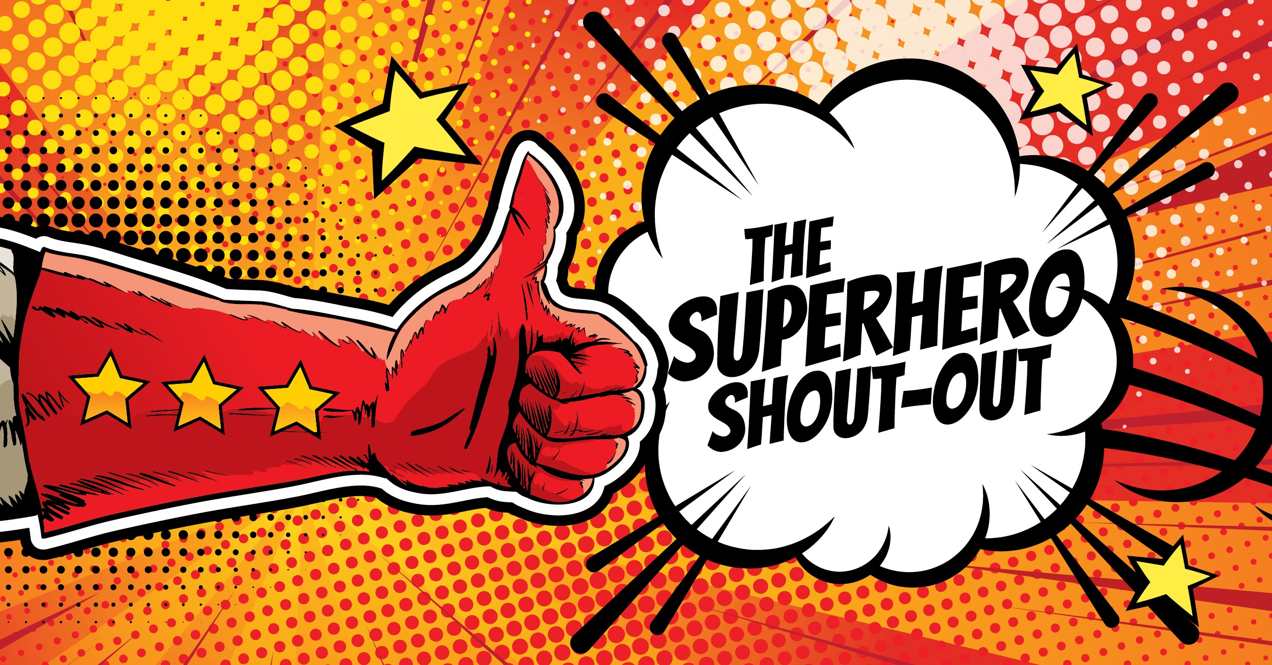 Drum Roll, Please. It's Time for a Superhero Shout-Out!