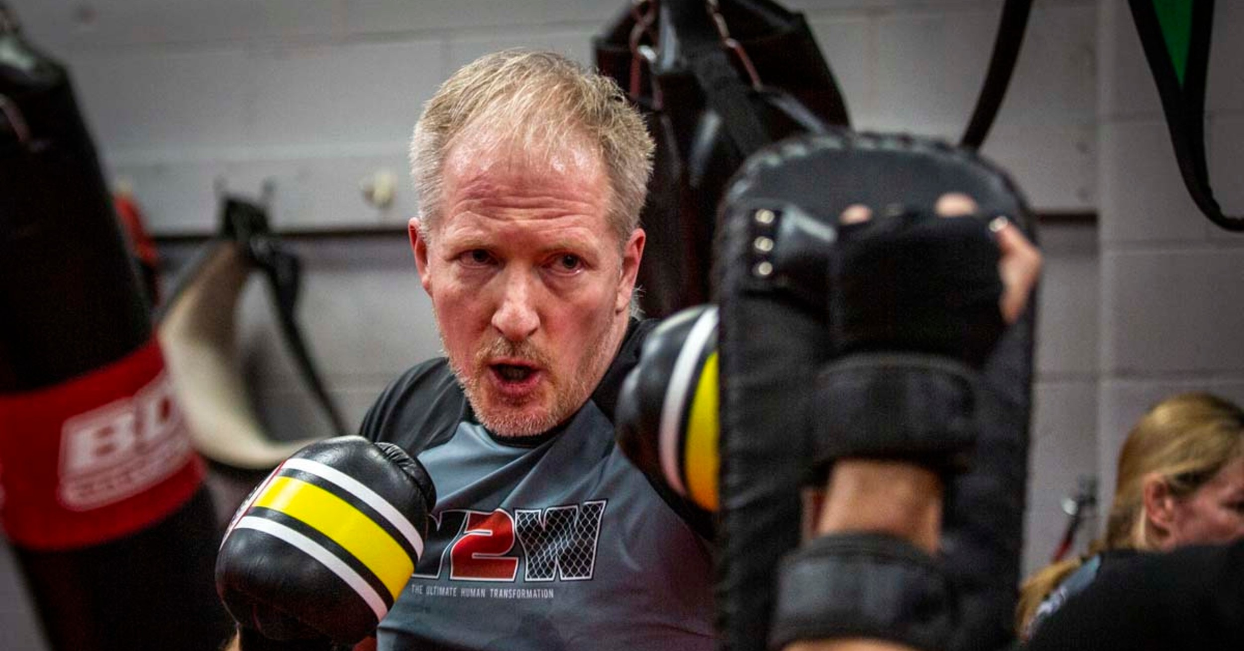 Meet Nick Debrey, A 46-Year-Old Teacher Who Conquered The Cage
