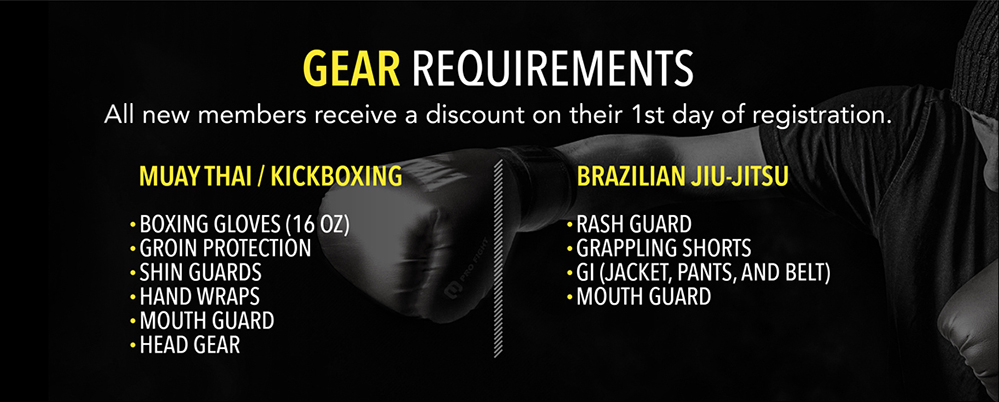 Gear Requirements