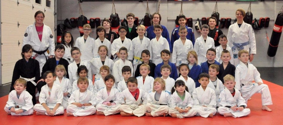 Kids Class Belt Demonstration