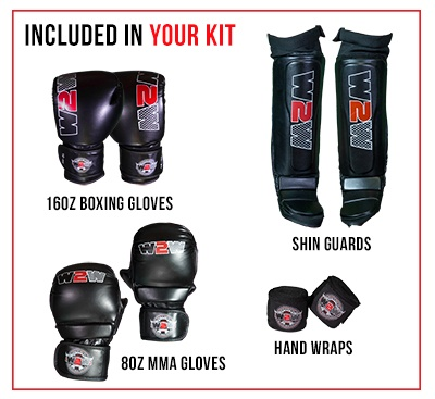 Included in your Wimp2Warrior Kit