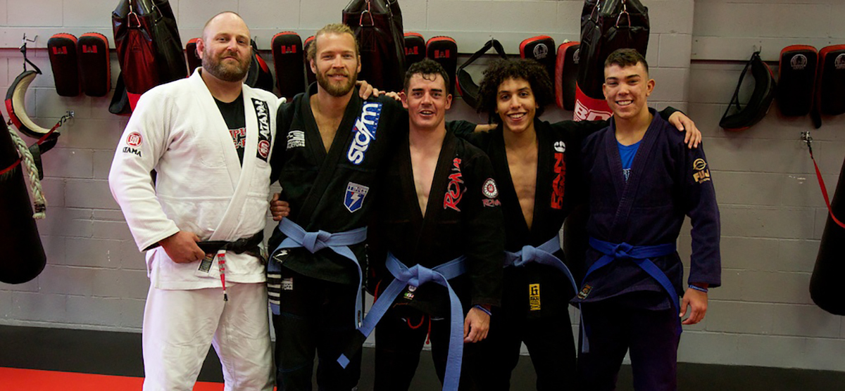 BJJ builds community and friendship.