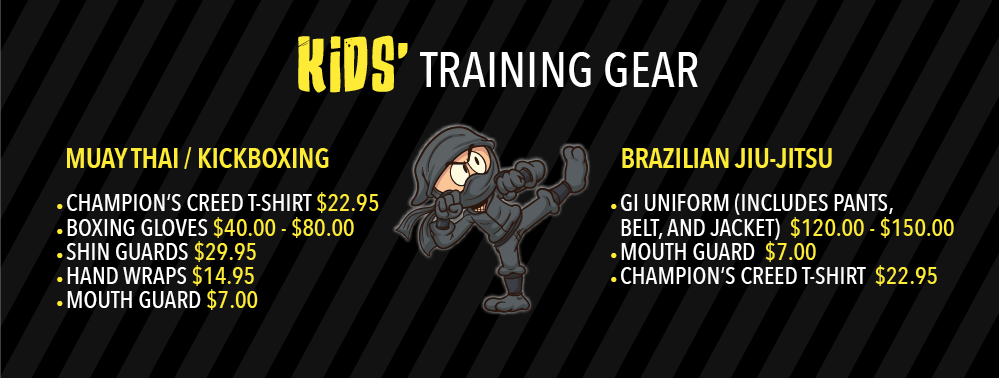 Kids' Training Gear