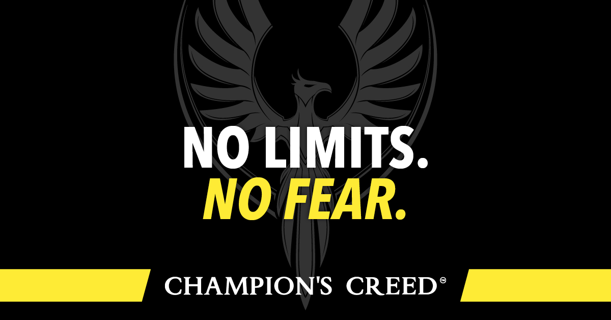 Quote Day: No Limits. No Fear.
