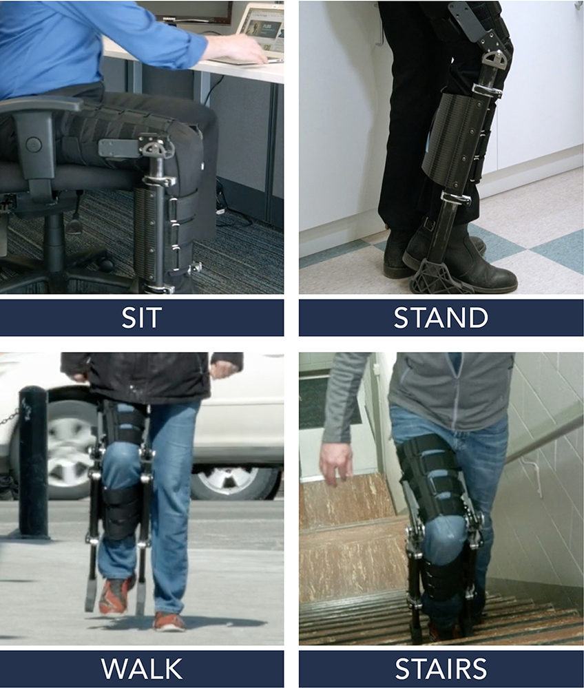 Sit Stand Walk Stairs