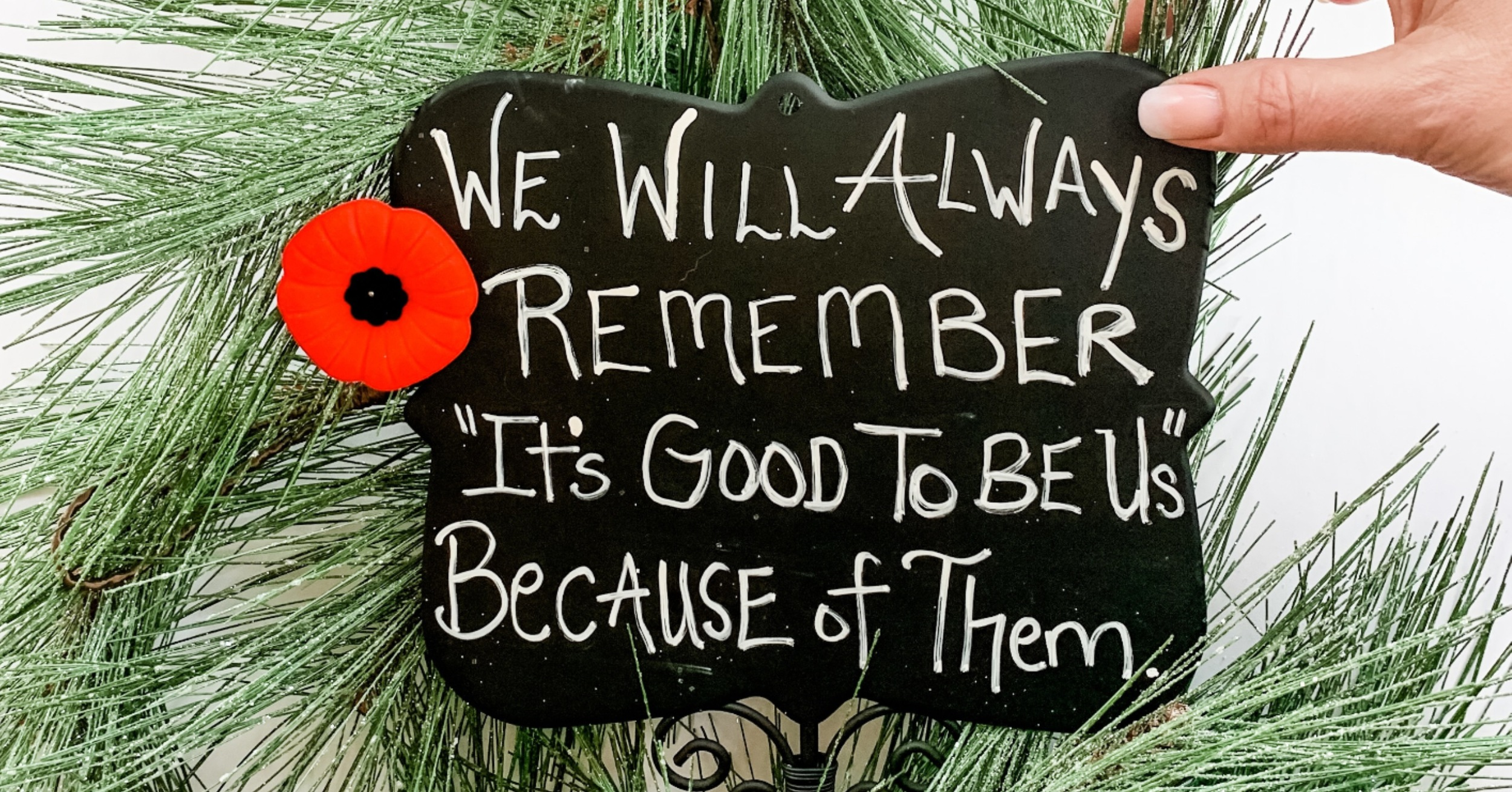 In Honour of Remembrance Day