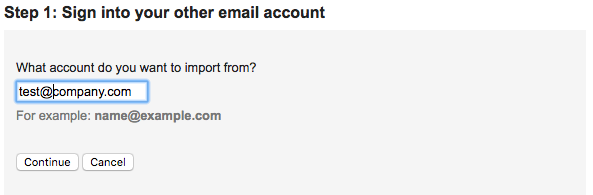 Sing Into your other email account