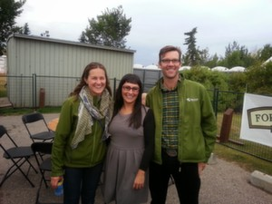 Brigette and Dylan of Green Earth Organics and Spartan Spark