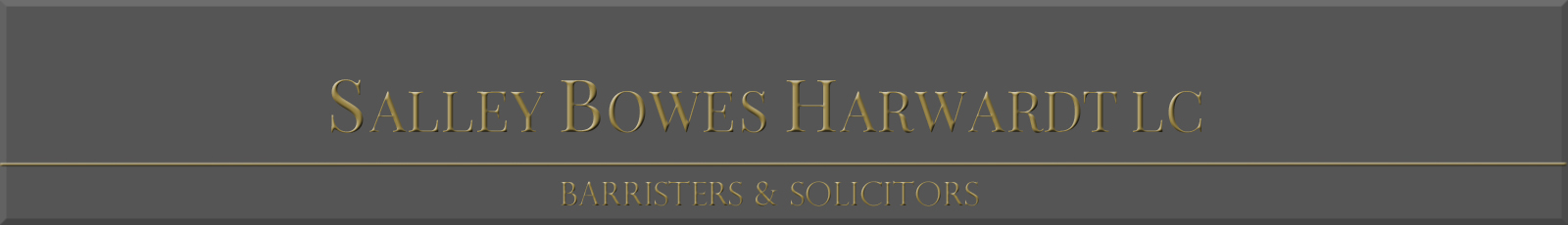 Salley Bowes Harwardt Law Corp.