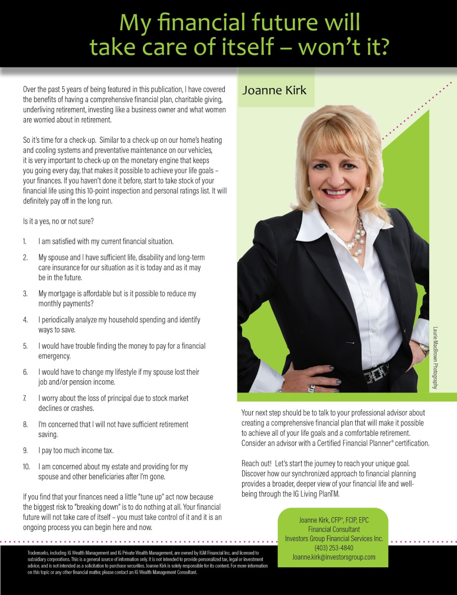 Joanne Kirk – Investors Group Financial Services Inc