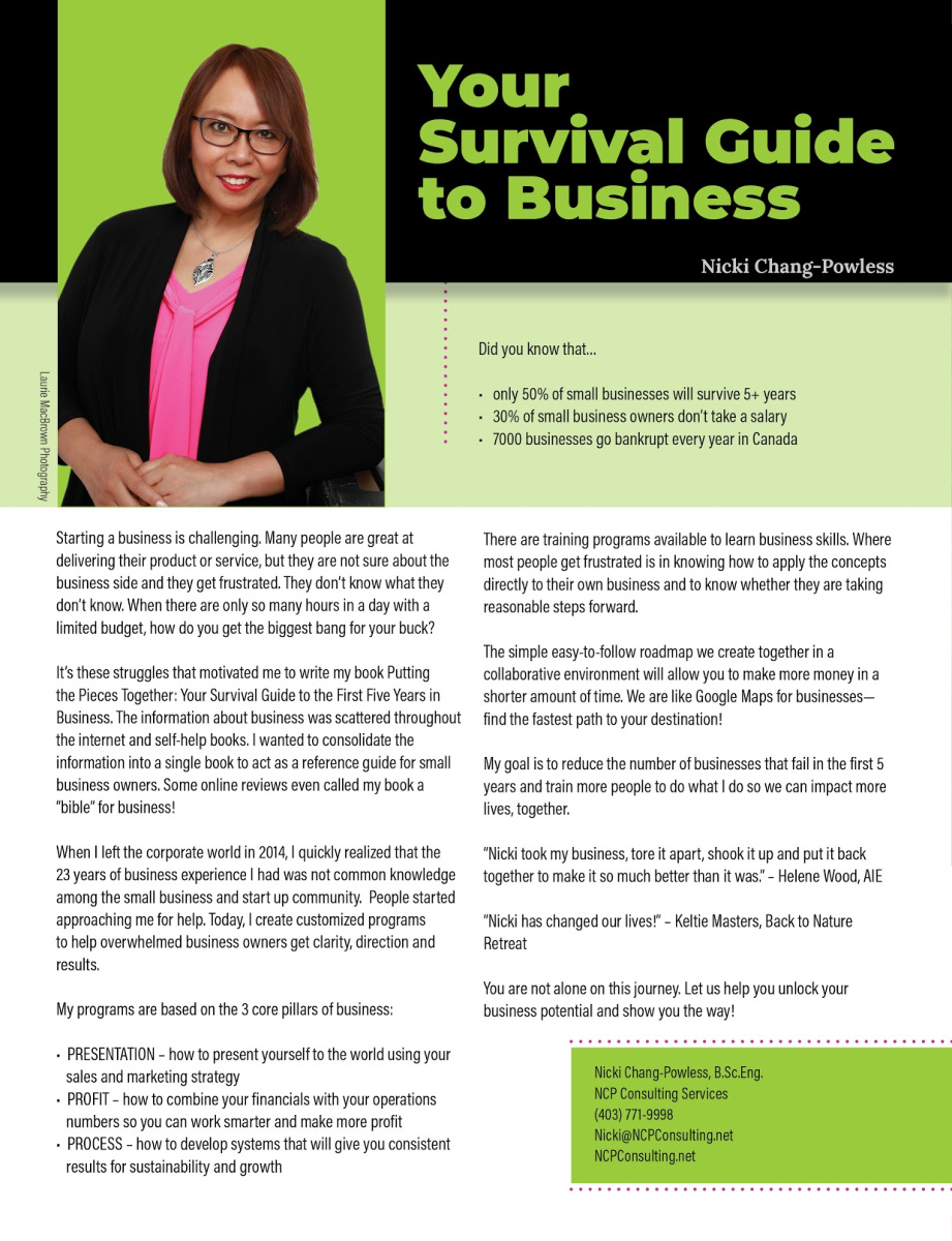 Nicki Chang-Powless – NCP Consulting Services