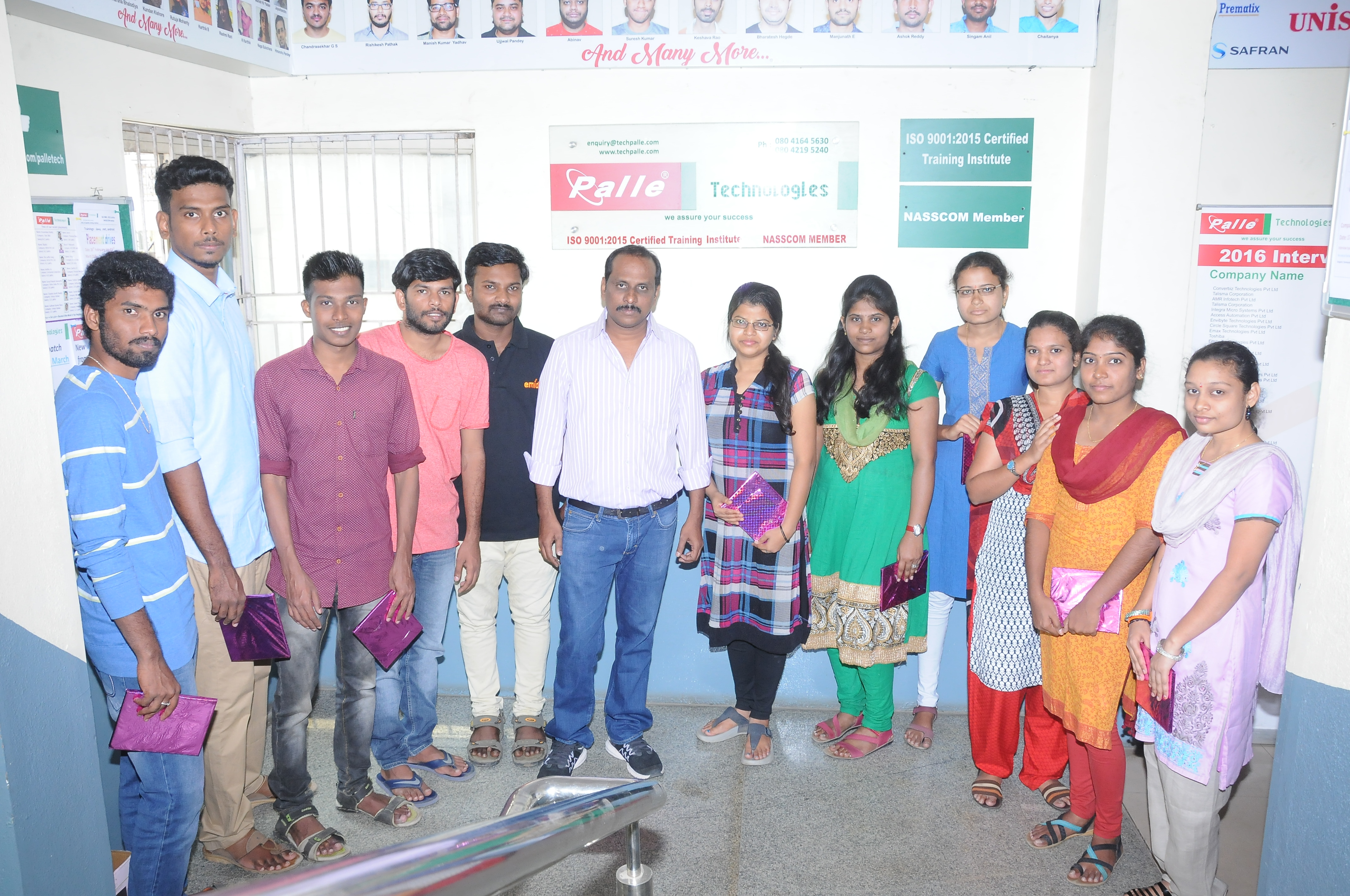 palle technologies placed student images