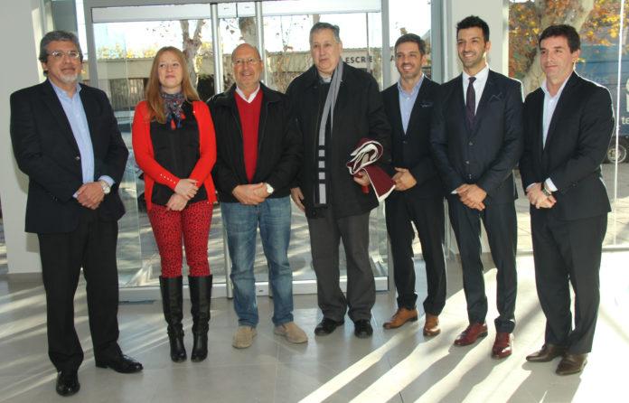 Sergio Moralejo, Paula Alassino, Marcelino Iglesias, Padre Eduardo, Cristian Encabo, Gerardo Lorenzo y Germán Mairán.