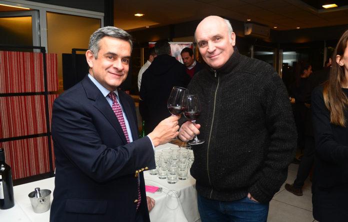 Mario Japaz y Marcos Horenstein.