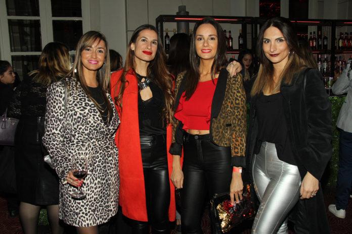 Emilia Soler, Natalia Torres, Daniela Sánchez y Laura Cabanillas.