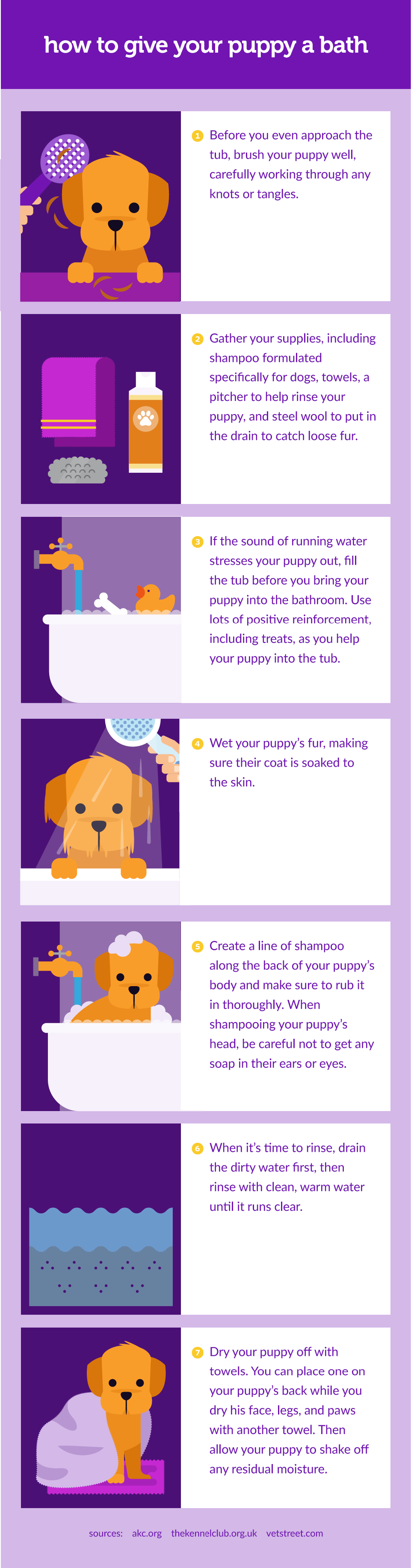 How To Give Your Puppy A Bath