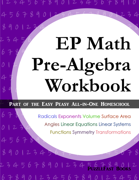 Easy Peasy Math Workbook