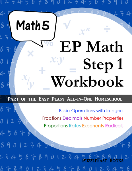 Easy Peasy Math Workbook