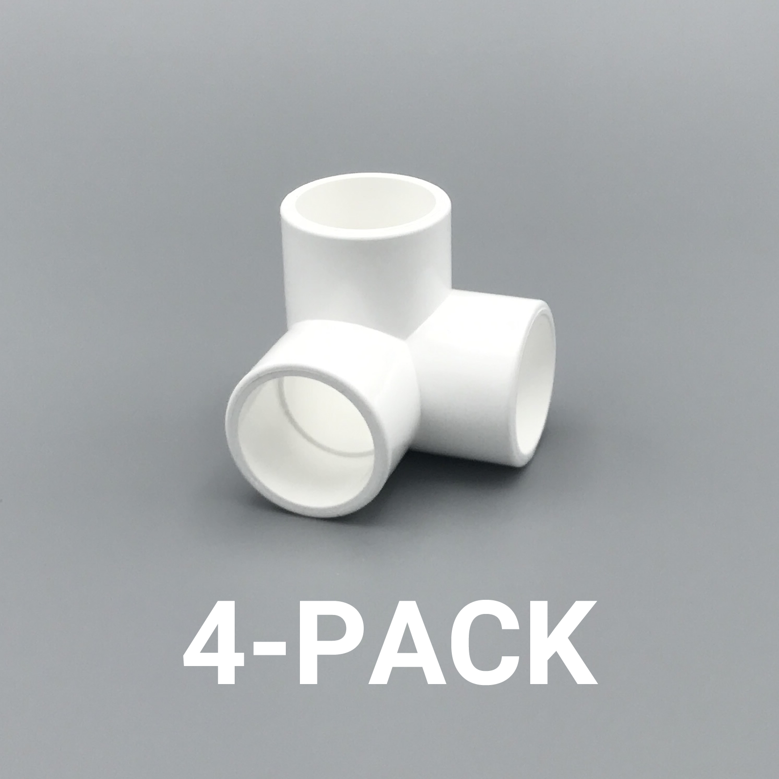 Pvc Pipe Fittings Corner : Quot inch way corner elbow pvc fitting connector