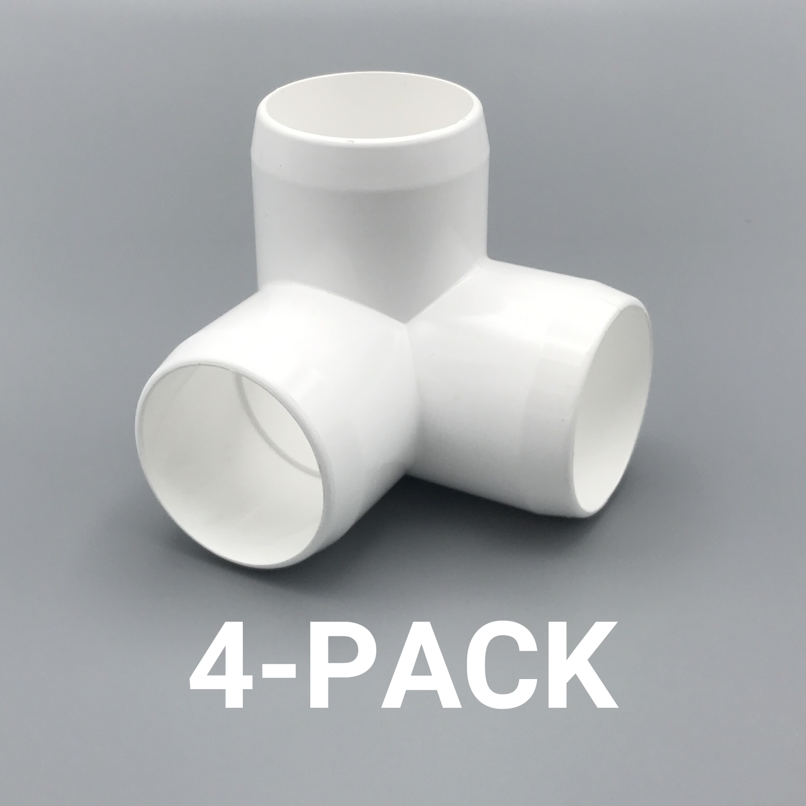 1 1 4 Quot Inch 3 Way Corner Elbow Pvc Fitting Connector 4