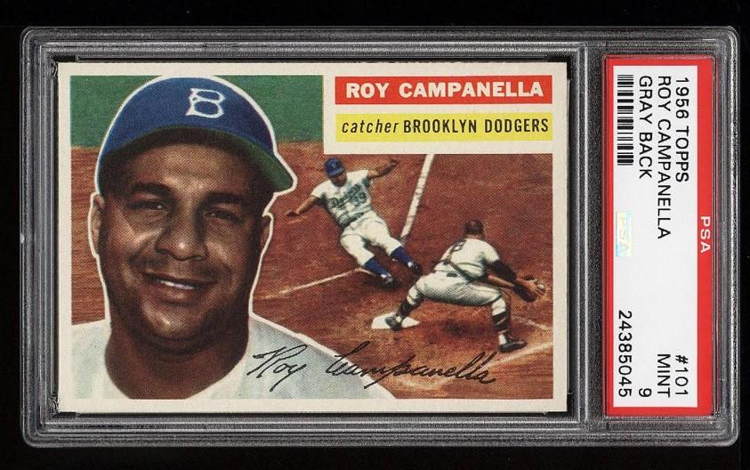 Image of: 1956 Topps Roy Campanella #101 PSA 9 MINT (PWCC-HE) (PWCC)