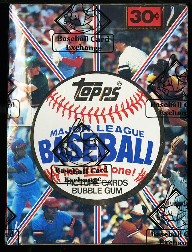 Image of: 1981 Topps Wax Box, 36ct Packs, Rose Kirk Gibson Valenzuela RC? BBCE AUTH (PWCC)