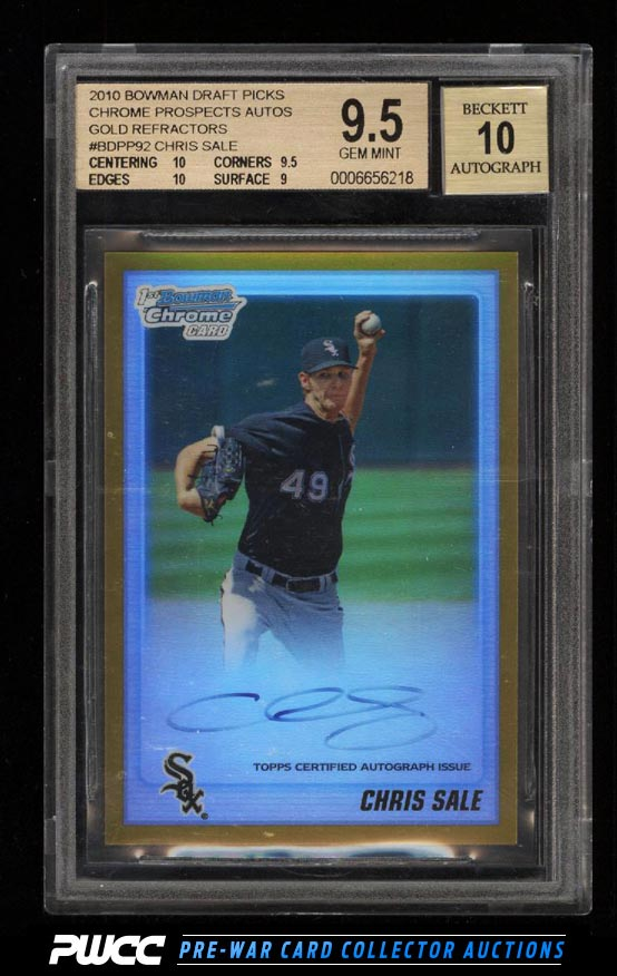 Beckett Graded This A 10 Auto Blowout Cards Forums