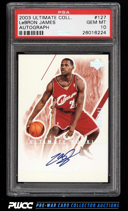 Hottest LeBron James Rookie Cards on eBay Now