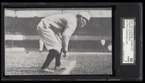 Image of: 1907 Wolverine News Hughie Jennings COACHING LINE SGC 50/4 VGEX (PWCC)