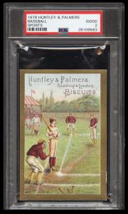 Image of: 1878 Huntley & Palmers Sports Baseball PSA 2 GD (PWCC)