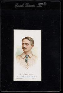 Image of: 1888 N28 Allen & Ginter Bob Caruthers, PR (PWCC)